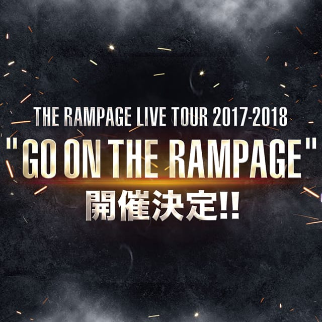 GO ON THE RAMPAGE